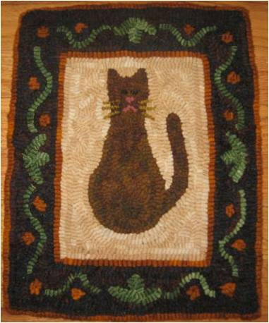 Wool Rug Hooking Kits With Precut Wool Pattern And Directions