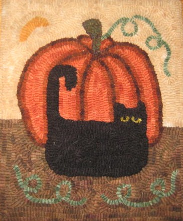 Wool Rug Hooking Primitive Designs Detailed Patterns